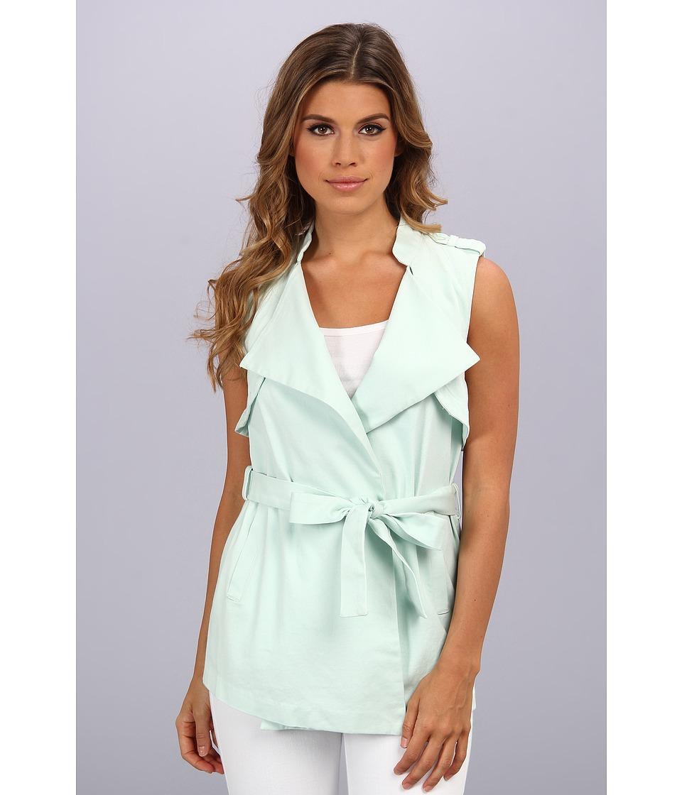 BCBGeneration - Drape Front Vest QCX4H015 (Mink) Women
