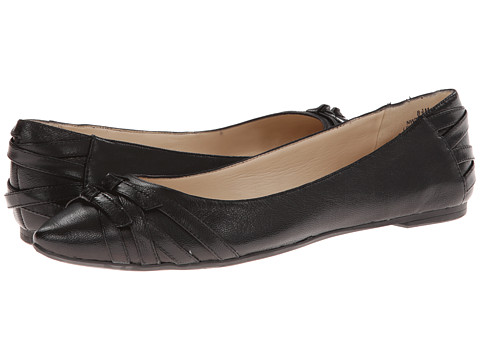 Nine West - Kessler (Black Leather) Women's Flat Shoes