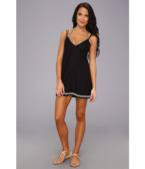 Vince Camuto - Flights Of Fancy Dress Cover Up (Black) Women