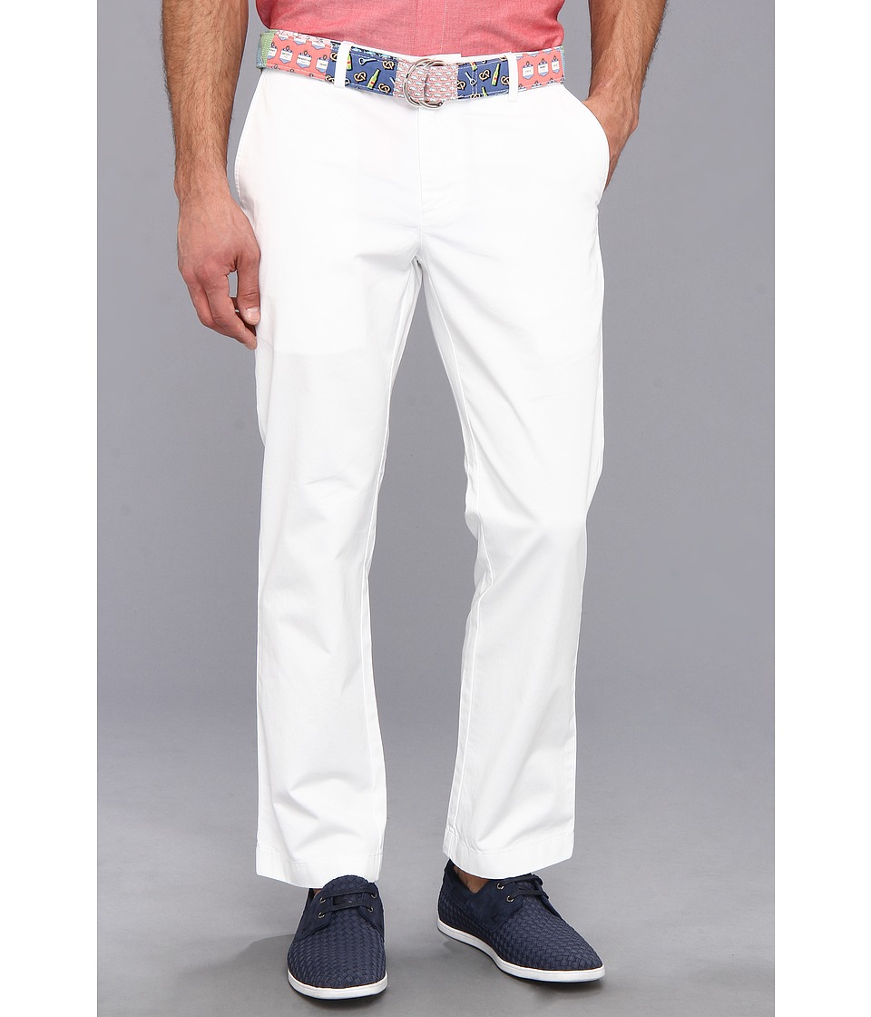 Vineyard Vines - Great White Slim Fit Breaker (White Cap) Men's Casual Pants