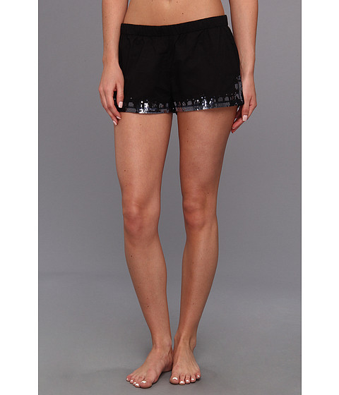 Vince Camuto - Gilded Age Shorts w/ Embellishment (Black) Women