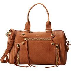 Botkier Logan Small Satchel (Brandy) Satchel Handbags