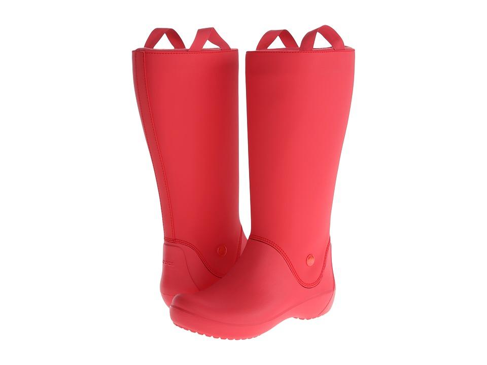 a7ae589ca00d3 UPC 887350116076 - Crocs Rainfloe Boot (Red Red) Women s Rain Boots ...