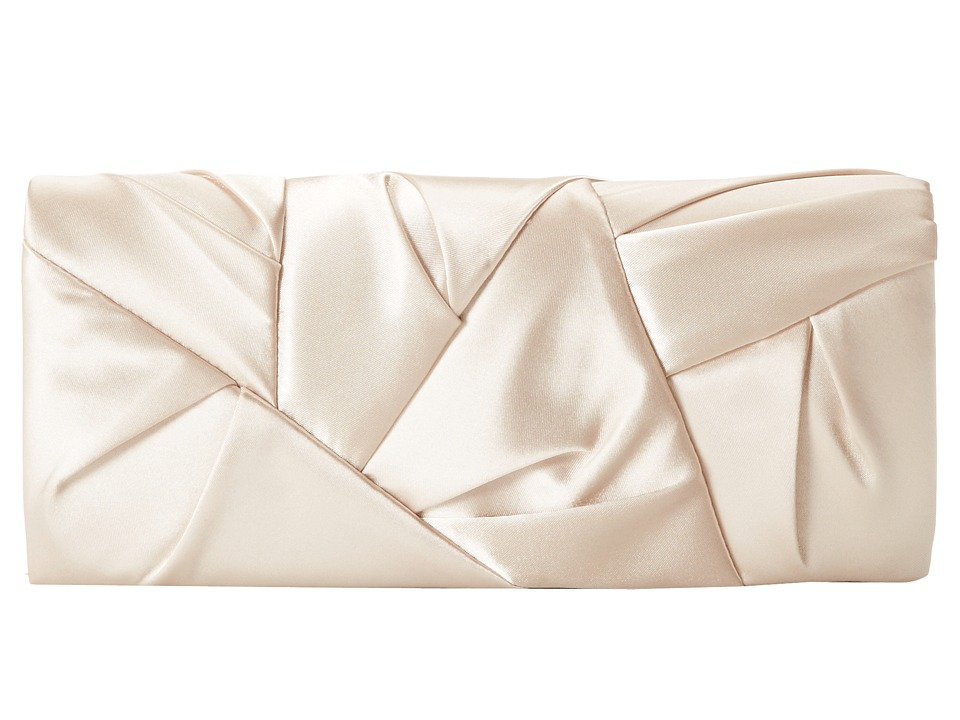 Jessica McClintock - Orgami Clutch (Champagne) Clutch Handbags