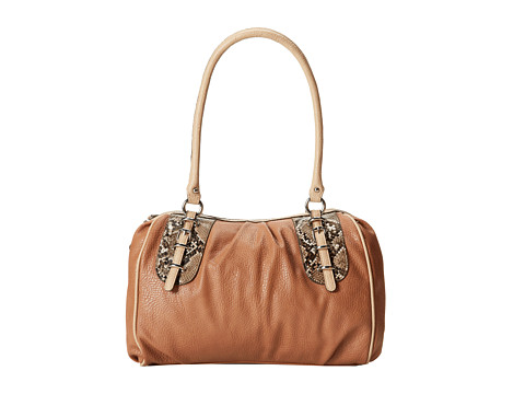 Jessica Simpson - Amber Satchel (Suntan) Satchel Handbags