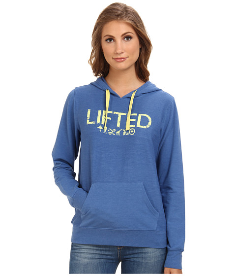 L-R-G - Lounge Act Hoodie (Bright Colbalt) Women