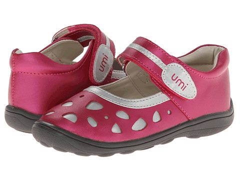 Umi Kids - Samantha B (Toddler) (Hot Pink Multi) Girls Shoes