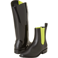 Melissa Shoes Riding (Black Yellow) Footwear