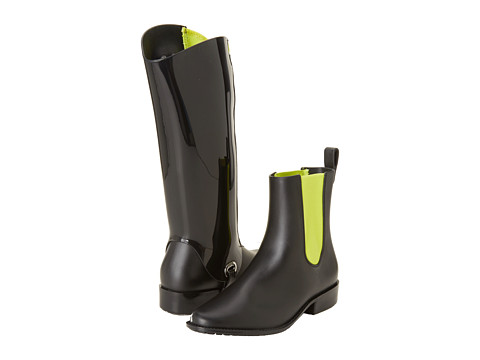 Melissa Shoes - Riding (Black Yellow) Women