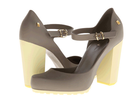 Melissa Shoes - Marilyn (Army Green) High Heels