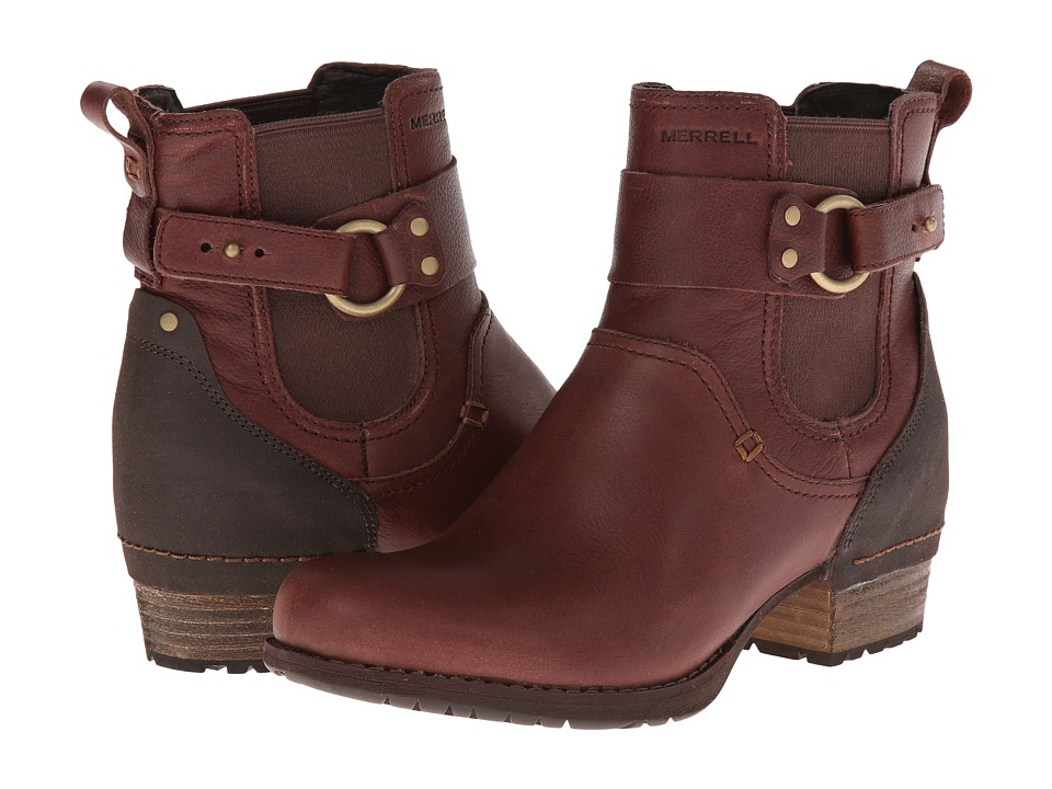 Merrell - Shiloh Pull (Chocolate) Women's Pull-on Boots