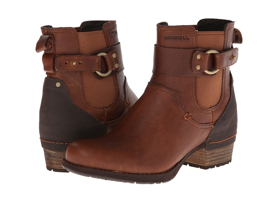 Merrell - Shiloh Pull (Oak) Women's Pull-on Boots