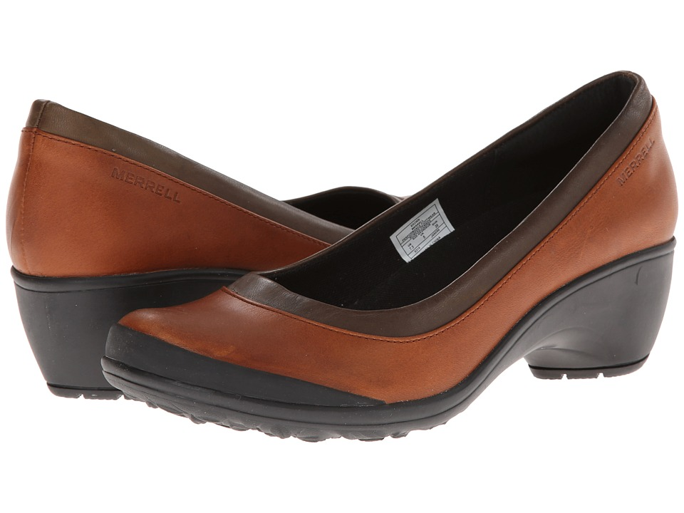 Merrell - Veranda (Brown) Women's Slip-on Dress Shoes
