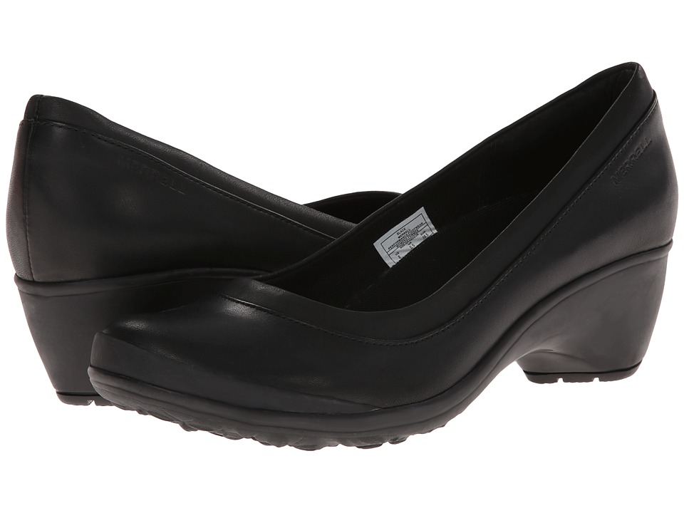Merrell - Veranda (Black) Women's Slip-on Dress Shoes