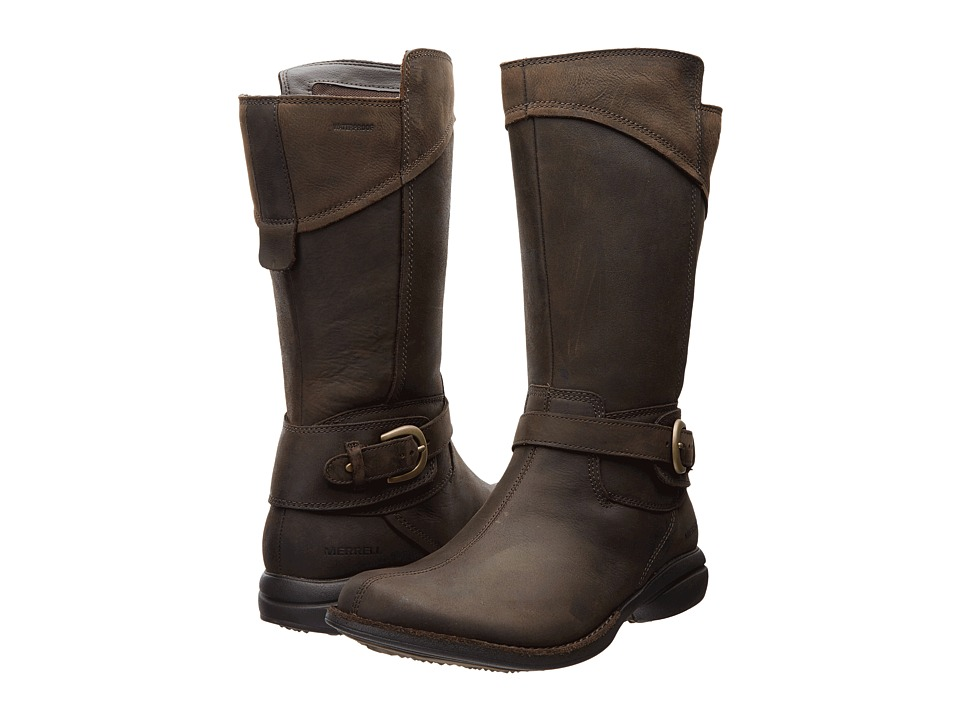 Merrell - Captiva Buckle-Down Waterproof (Espresso) Women