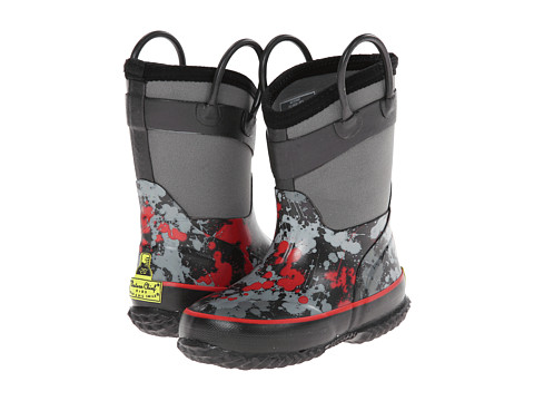 Western Chief Kids - Paint Ball Splat (Toddler/Little Kid) (Charcoal) Boys Shoes