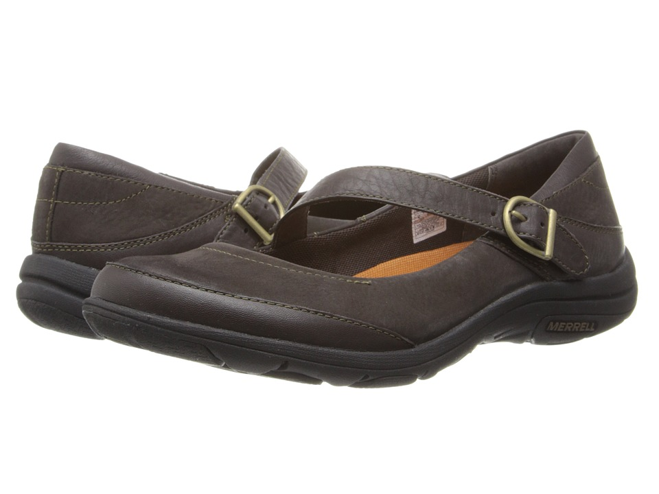 Merrell - Dassie MJ (Espresso) Women's Maryjane Shoes