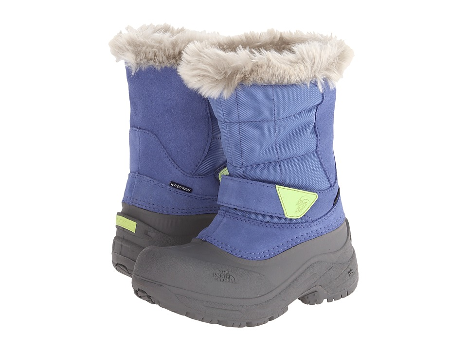 The North Face Kids - Shellista Pull-On (Toddler/Little Kid/Big Kid) (Dutch Blue/Rave Green) Girls Shoes