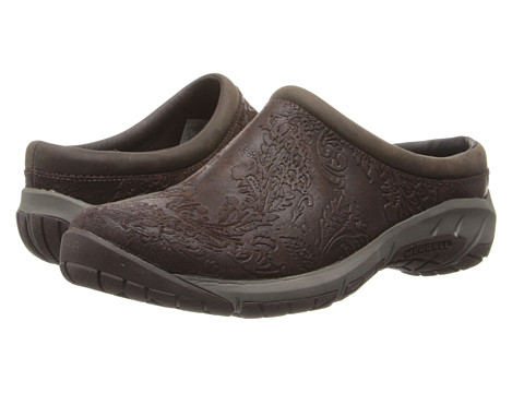 Merrell - Encore Frill (Brown) Women's Slip on Shoes