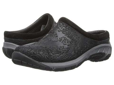Merrell - Encore Frill (Black) Women's Slip on Shoes
