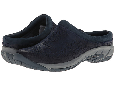 Merrell - Encore Frill (Navy) Women's Slip on Shoes
