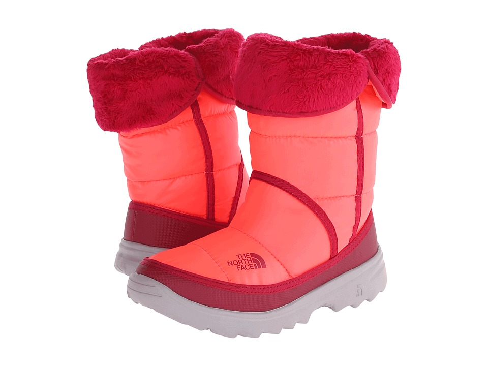 The North Face Kids - Amore (Little Kid/Big Kid) (Shiny Rocket Red/Cerise Pink) Girls Shoes