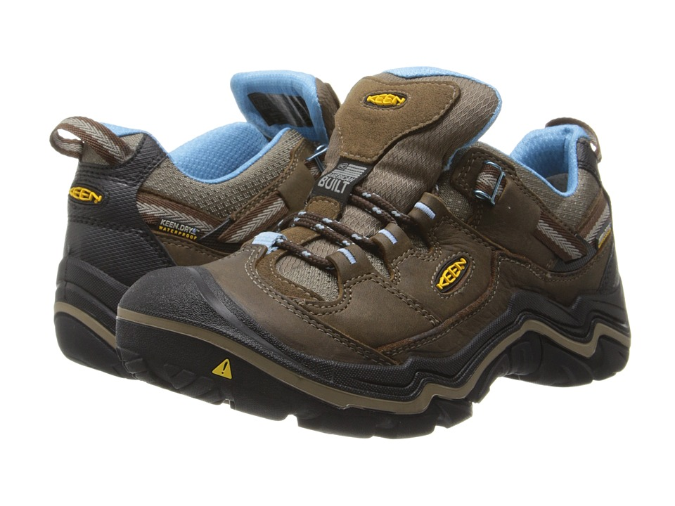 Keen - Durand Low WP (Dark Earth/Alaskan Blue) Women