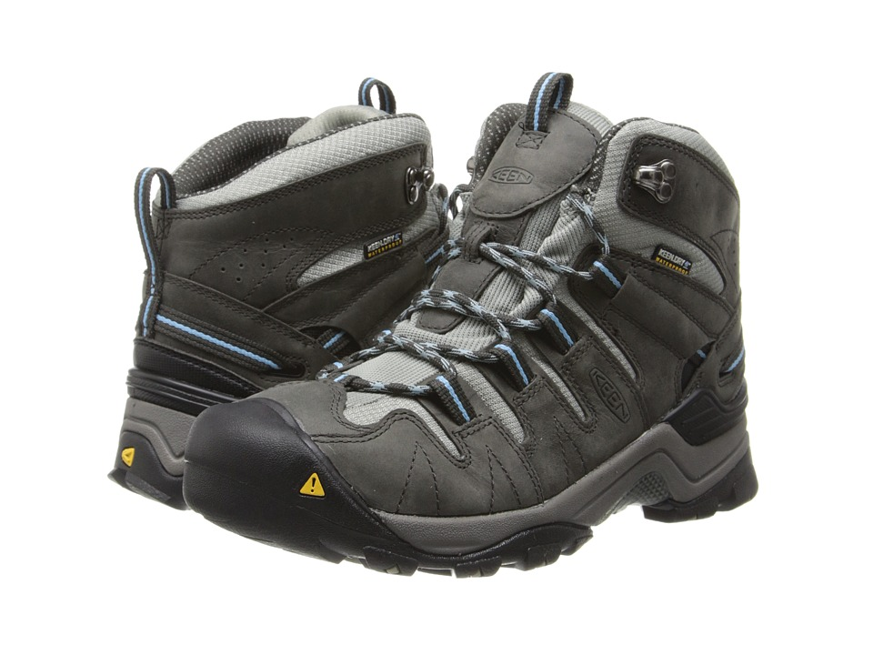 Keen - Gypsum Mid (Raven/Alaskan Blue) Women's Hiking Boots