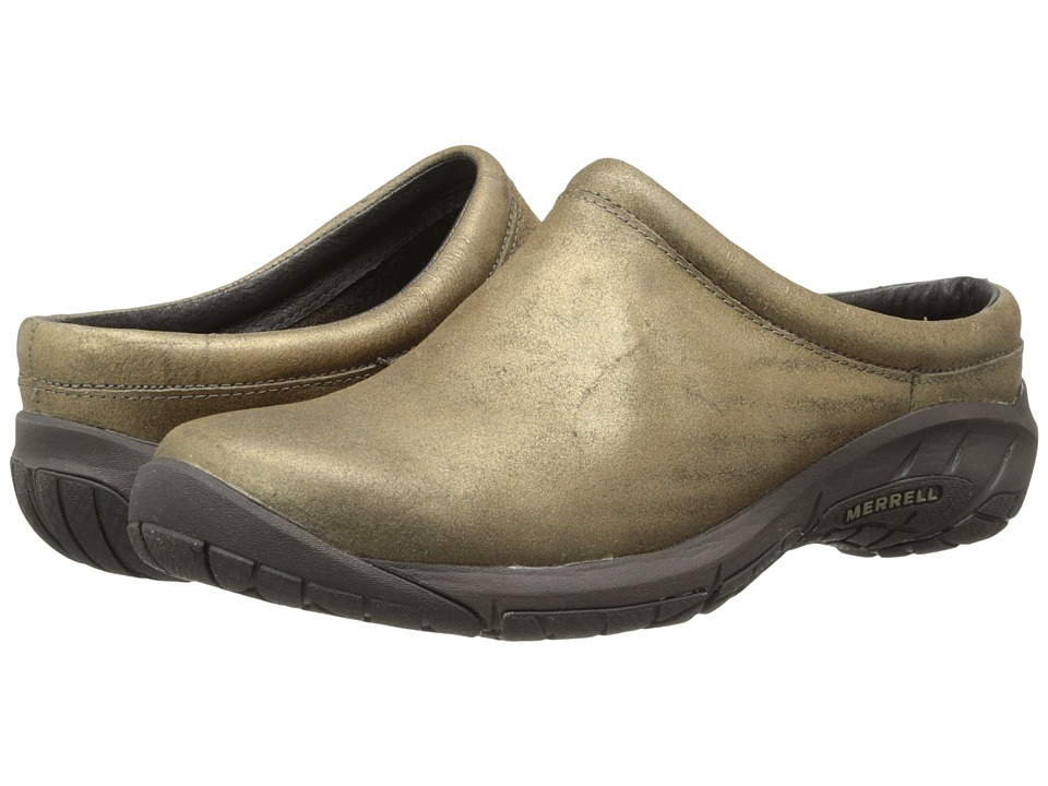 Merrell - Encore Nova 2 (Gold) Women's Clog Shoes