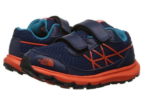 The North Face Kids - Ultra (Toddler/Little Kid) (Cosmic Blue/Red Orange) Boys Shoes