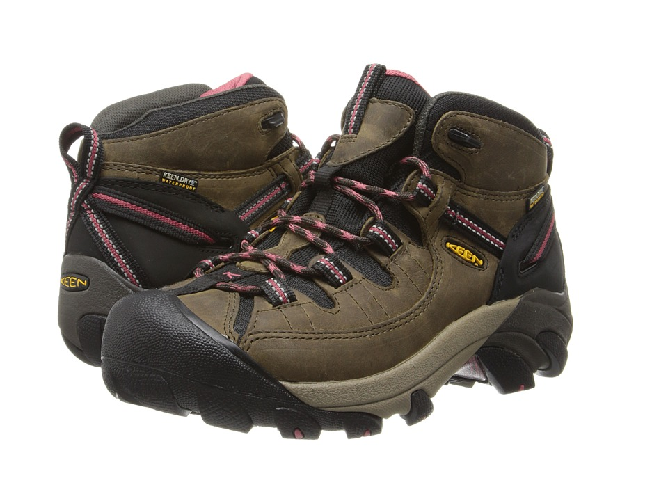 Keen - Targhee II Mid (Black Olive/Slate Rose) Women's Hiking Boots