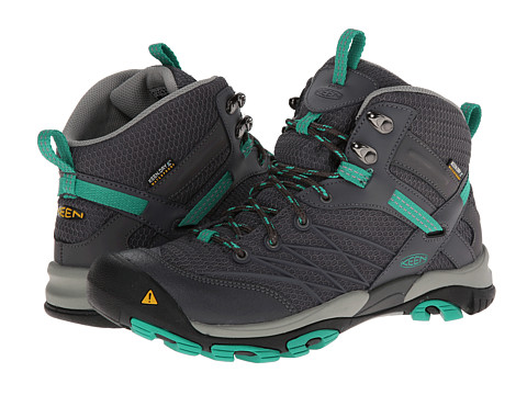 Keen - Marshall Mid WP (Magnet/Emerald) Women's Hiking Boots