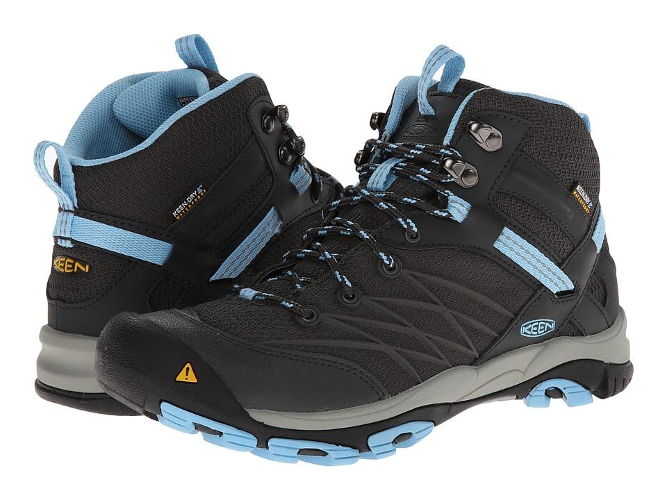 Keen - Marshall Mid WP (Raven/Alaskan Blue) Women's Hiking Boots