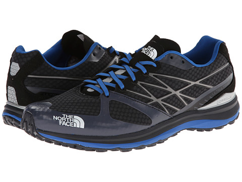 The North Face - Ultra Trail (Asphalt Grey/Snorkel Blue) Men