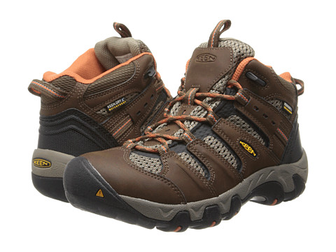 Keen - Koven Mid WP (Dark Earth/Arabesque) Women's Hiking Boots