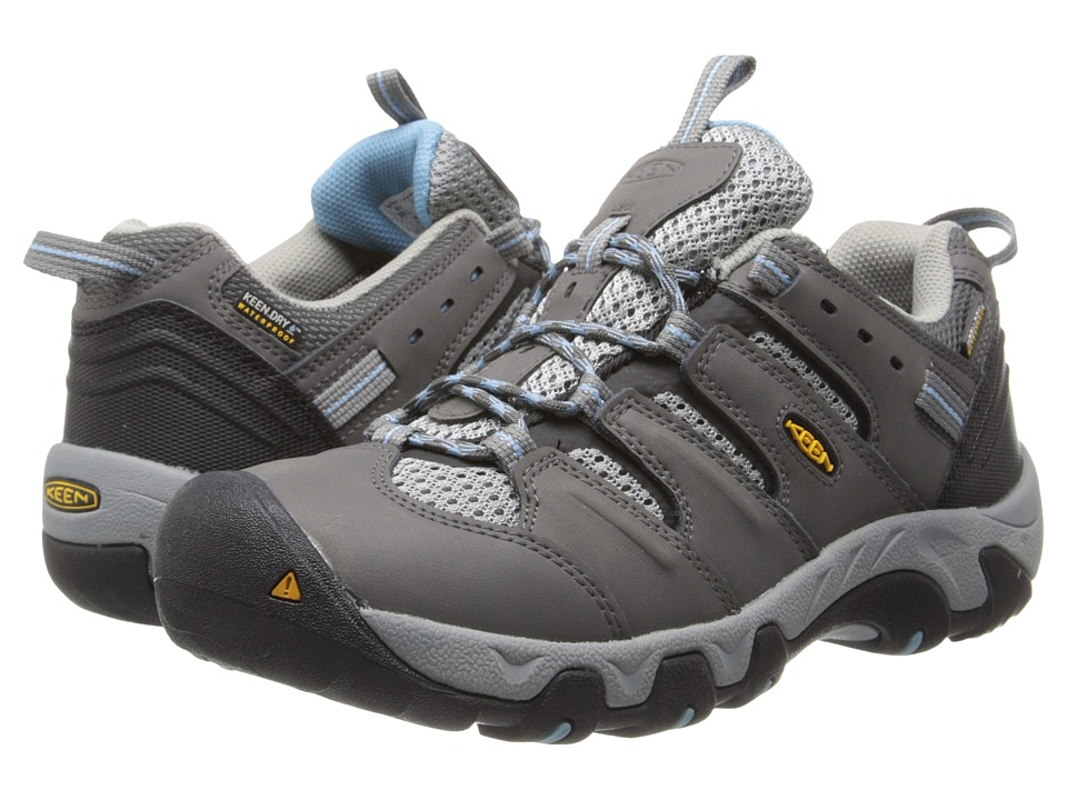 Keen - Koven Low WP (Gargoyle/Alaskan Blue) Women