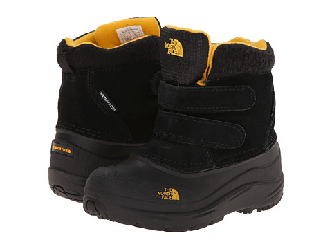 The North Face Kids - Chilkat (Toddler) (TNF Black/TNF Yellow) Boys Shoes