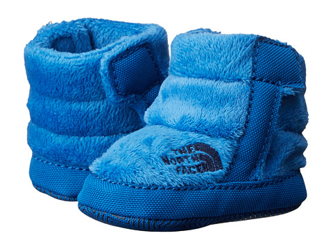 The North Face Kids - NSE Fleece Bootie (Infant/Toddler) (Cool Blue) Boys Shoes