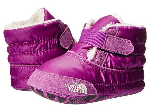 The North Face Kids - Asher Boots (Infant/Toddler) (Shiny Magic Magenta/Turtle Dove) Girls Shoes