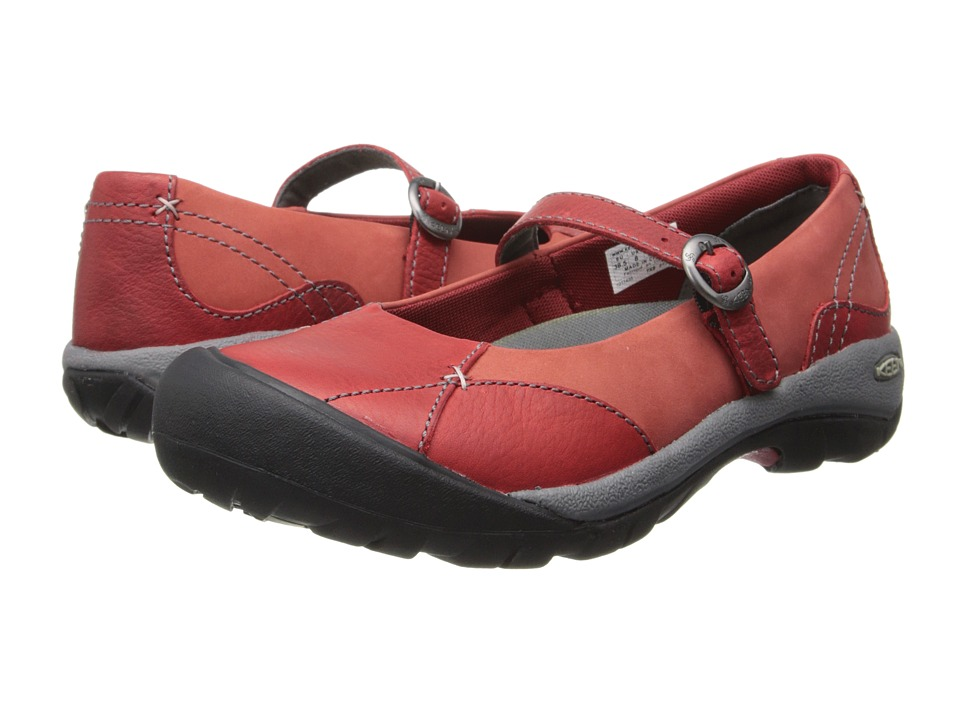 Keen - Presidio MJ (Red Dahlia) Women's Maryjane Shoes