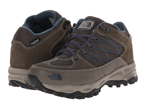 The North Face Kids - Storm Waterproof (Toddler/Little Kid/Big Kid) (Weimaraner Brown/Shroom Brown) Boys Shoes