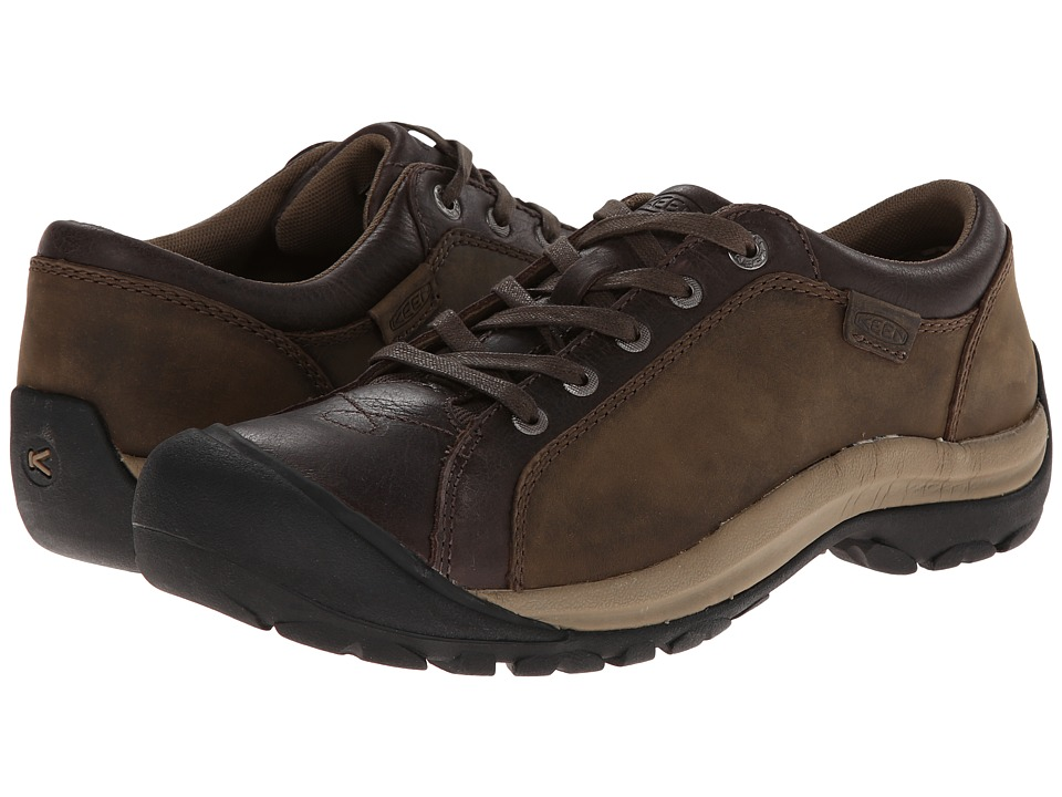 Keen - Briggs Leather (Cascade Brown) Women's Lace up casual Shoes