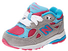 New Balance Kids 990v3 (Infant/Toddler) (Silver/Blue)