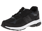 New Balance Kids KJ990V3 (Big Kid) (Black)