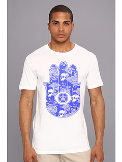 SALE! $16.99 - Save $10 on Obey Floral Hamsa Thrift Tee (White) Apparel - 37.07% OFF $27.00