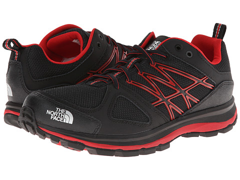 The North Face - Litewave (TNF Black/TNF Red) Men's Shoes