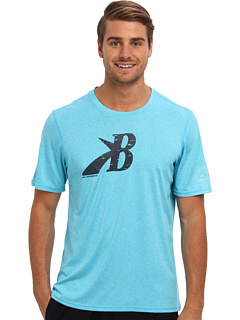 SALE! $10.29 - Save $24 on Brooks EZ T III Flying B (Cyan) Apparel - 69.74% OFF $34.00