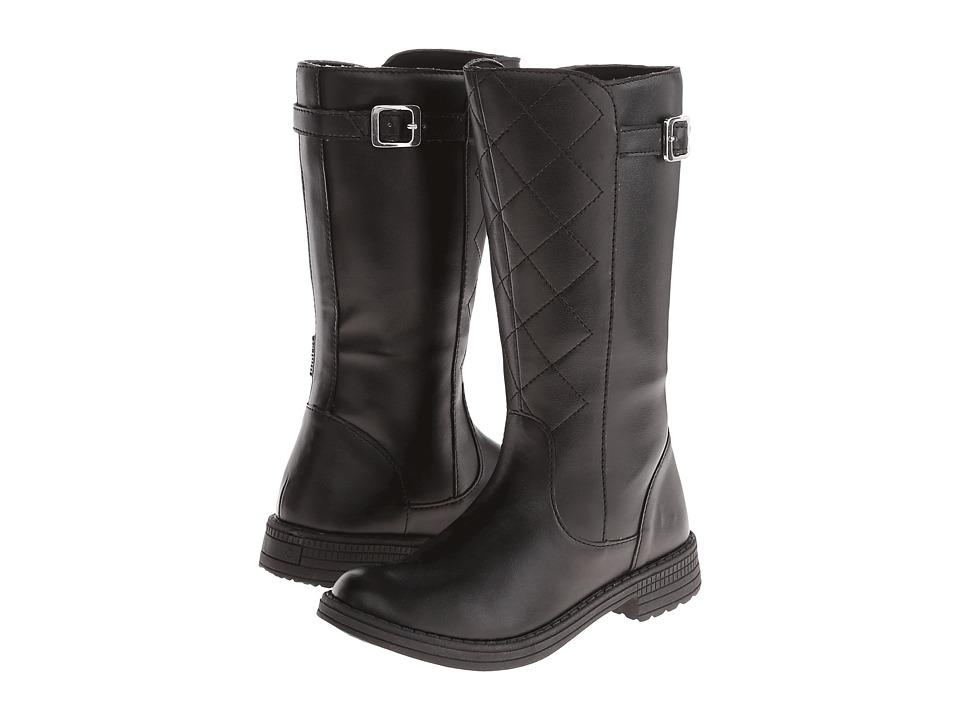 Umi Kids - Quiltee B II (Little Kid) (Black) Girls Shoes