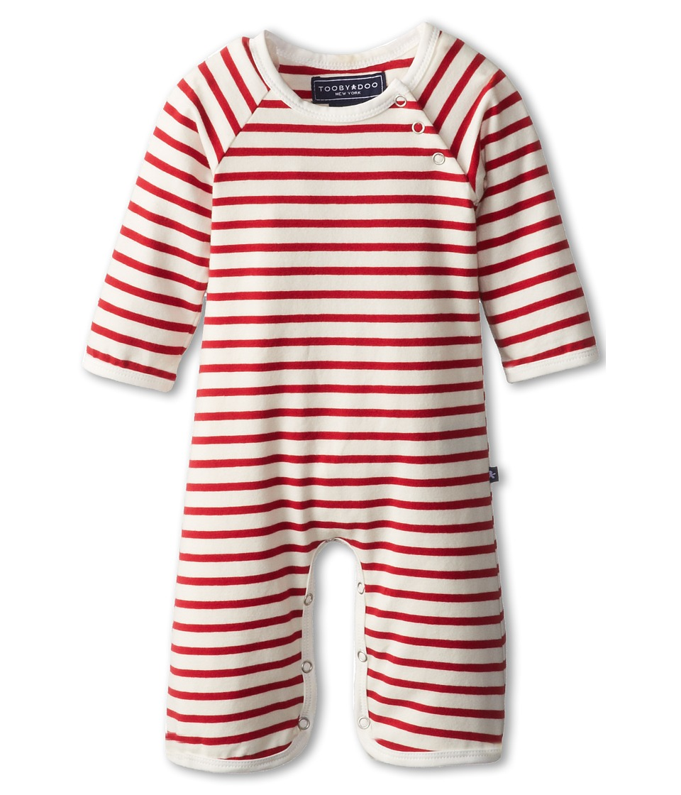 Toobydoo - Jumpsuit Chelsea (Infant) (Red) Boy's Jumpsuit & Rompers One Piece