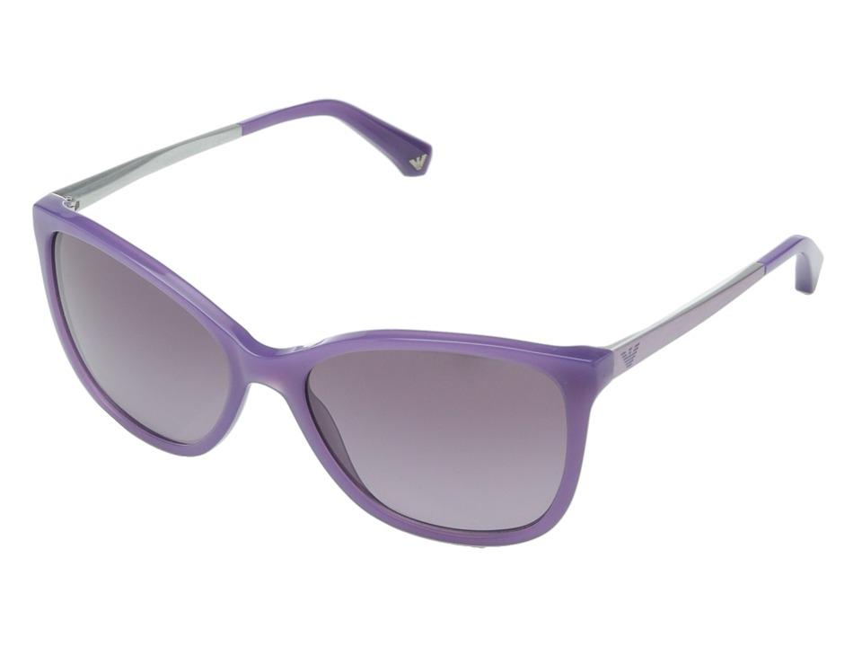 Emporio Armani - 0EA4025 (Pearl Lilac/Violet Gradient) Fashion Sunglasses